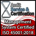 Sistema di gestione Certificato - 45001.2018